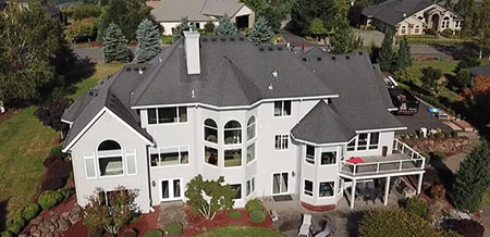Residential Roof Replacement With CertainTeed Presidential Shingles
