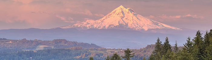 Clackamas Roofing Contractors by Executive Roof Services. Image of Mt. Hood from the Clackamas area.