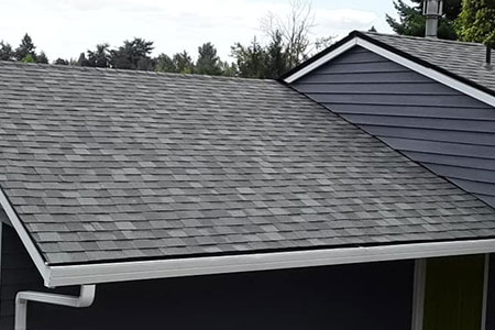 Image of Asphalt Shingles on a Roof Replacement Project